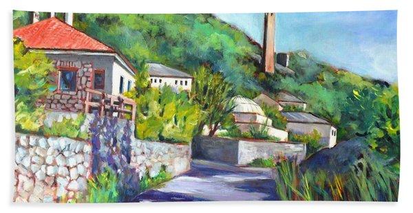 Pocitelji - A Heritage Village In Bosina Hand Towel