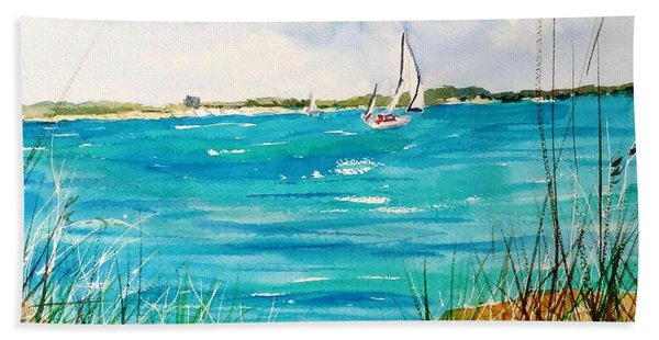 Ponce Inlet Hand Towel