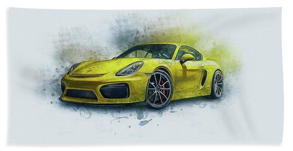 Porsche 911 Hand Towel