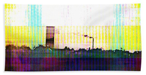 Bath Towel featuring the digital art Progress by Bee-Bee Deigner