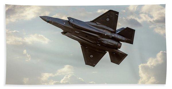 Raaf F-35a Lightning II Joint Strike Fighter Bath Towel