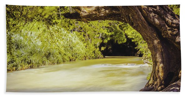 River Banks In Trelawny Jamaica Hand Towel