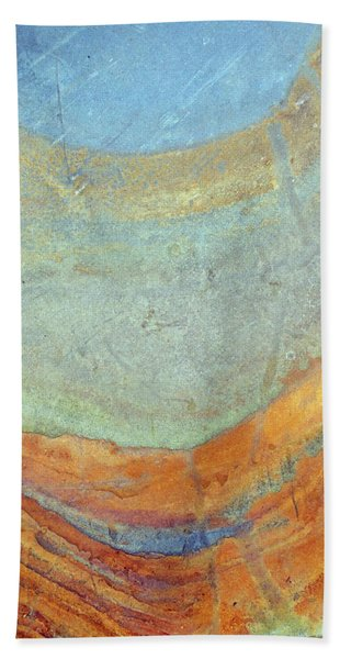 Rock Stain Abstract 7 Hand Towel