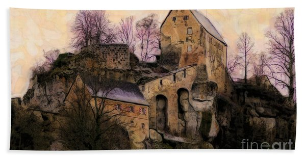 Ruined Castle Hand Towel