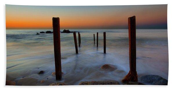 Santa Monica Sunrise Hand Towel