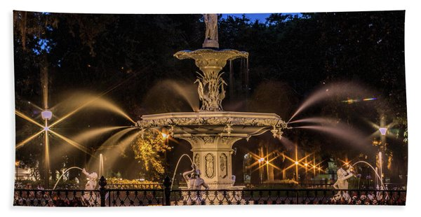 Savannah Fountain Hand Towel