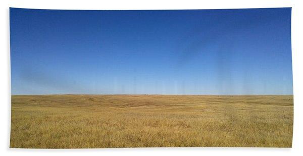 Sea Of Grass Hand Towel