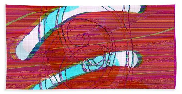 Bath Towel featuring the digital art Set Me Free by Bee-Bee Deigner