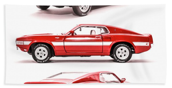 Shelby Gt500  Hand Towel