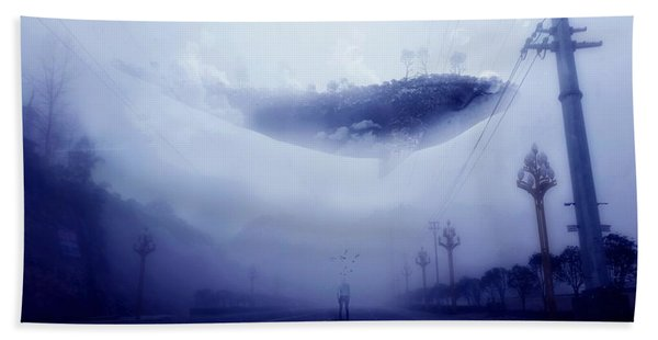 Sky Whale Hand Towel