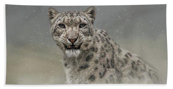Snow Ghost Bath Towel