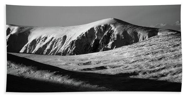 Snow On Cairngorm Hand Towel