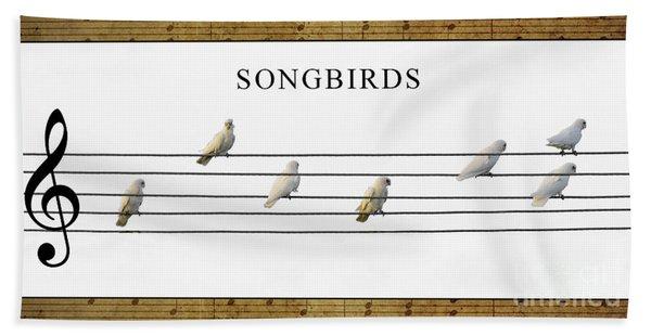 Songbirds Bath Towel