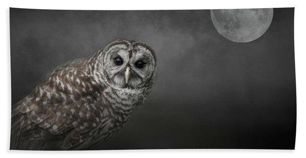 Soul Of The Moon Bath Towel