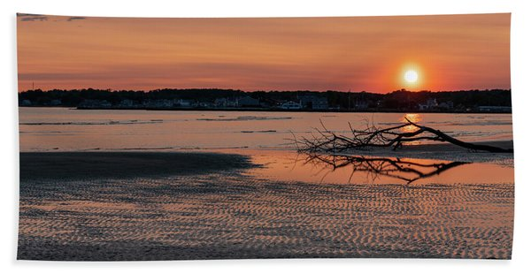 Soundview Sunset Hand Towel