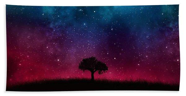 Starry Sky Hand Towel