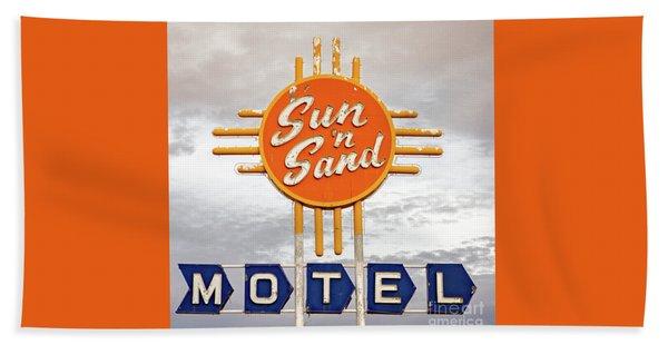 Sun 'n Sand Motel  Hand Towel