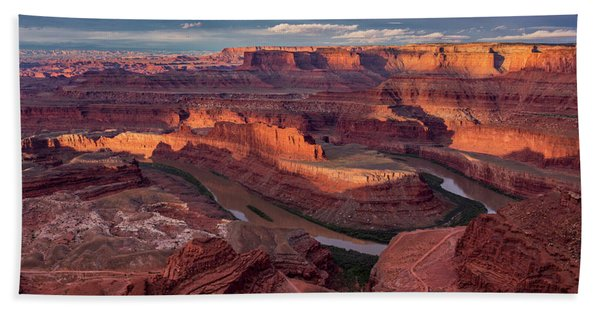 Sunrise At Dead Horse Point State Park Hand Towel
