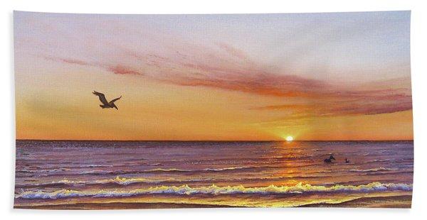 Sunset On The Gulf Bath Towel