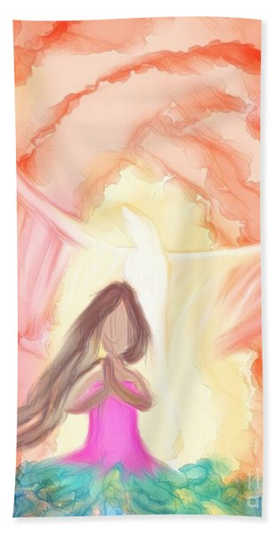 Sweet Hour Of Prayer Hand Towel