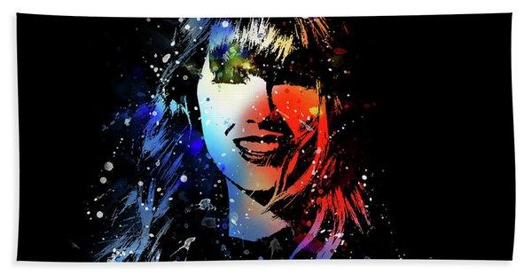 Taylor Swift Art Hand Towel