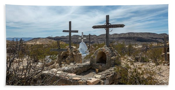 Terlingua Cemetery Hand Towel