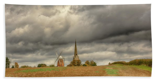 Thaxted - An English Countryside View Bath Towel