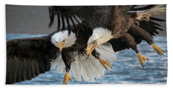 The Aerial Joust Bath Towel