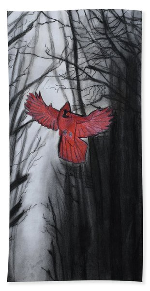 The Dark Forest Hand Towel