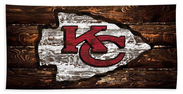 The Kansas City Chiefs 4w Bath Towel