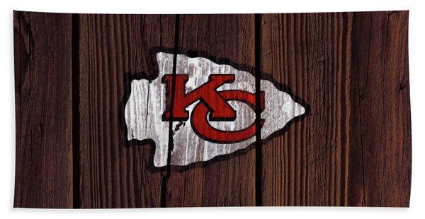 The Kansas City Chiefs 7w Bath Towel