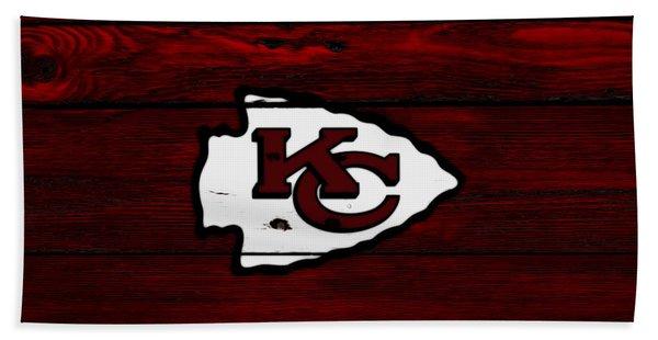 The Kansas City Chiefs 8c Bath Towel