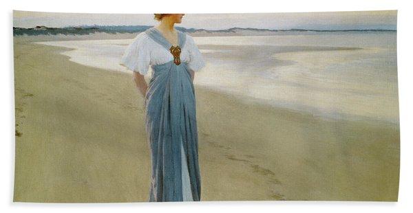 The Seashore, 1900 Hand Towel