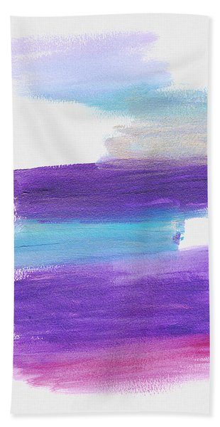 Bath Towel featuring the painting The Unconscious Mind by Bee-Bee Deigner