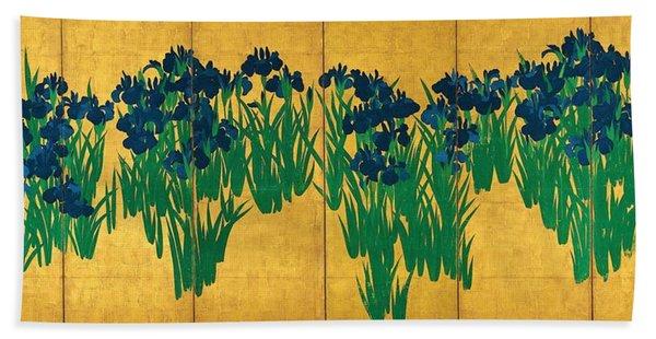 Top Quality Art - Iris Hand Towel