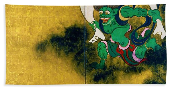Top Quality Art - Wind God And Thunder God - Wind God Hand Towel