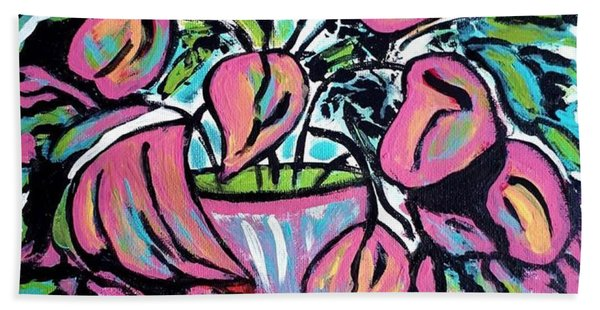 Tulip Dance Hand Towel