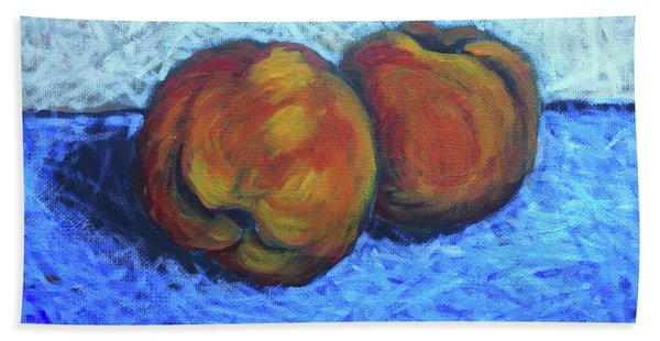 Two Peaches Hand Towel
