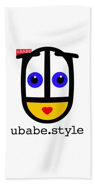 Ubabe De Stijl Bath Towel