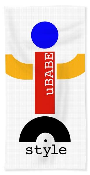 uBABE Dude Bath Towel