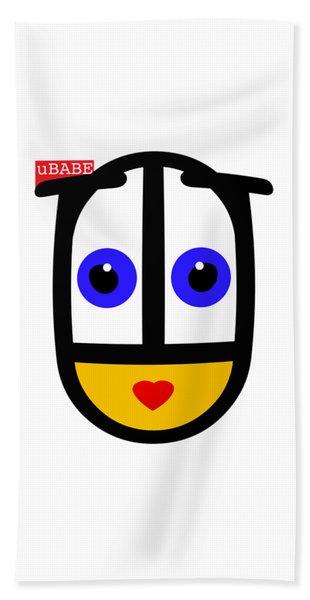 uBABE Logo Bath Towel