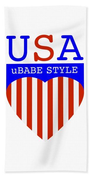 Ubabe Style America Bath Towel