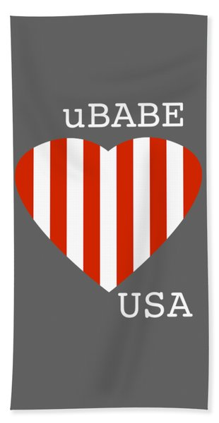 uBABE USA Bath Towel