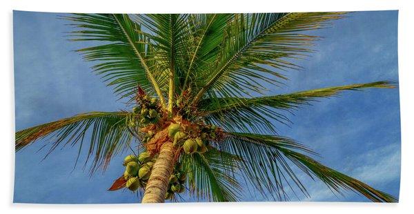 Under The Coconut Palm Bath Towel