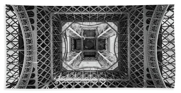 Under The Eiffel Tower Hand Towel