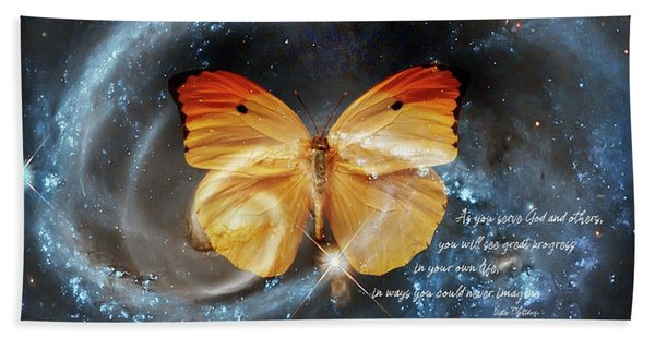 Universal Butterfly Bath Towel