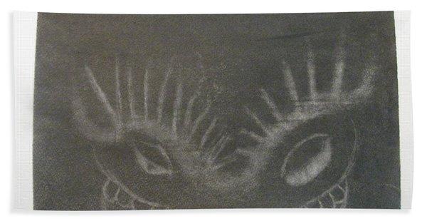Upper Dragon Face Hand Towel