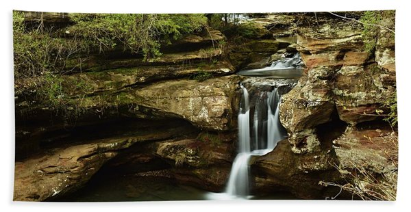Upper Falls Overview Hand Towel