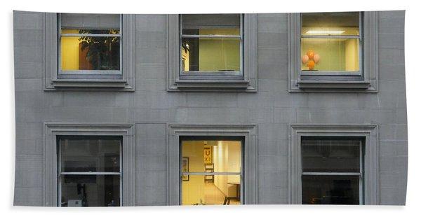 Urban Windows Bath Towel