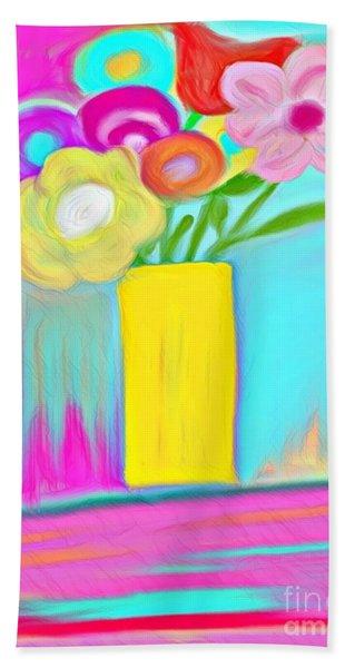 Vase Of Life Hand Towel